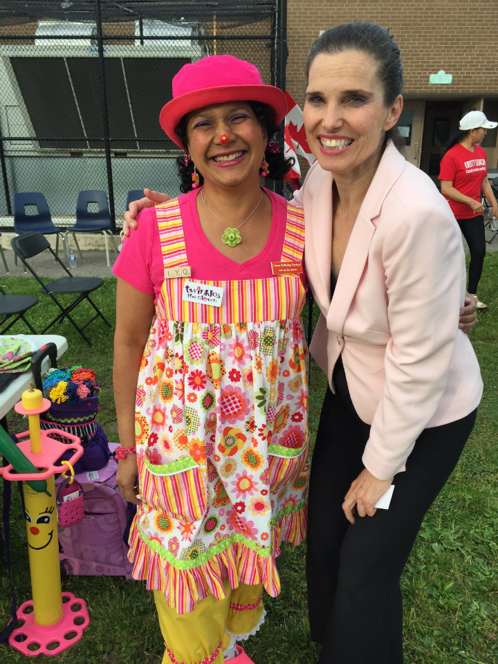 with Kirsty Duncan, MP