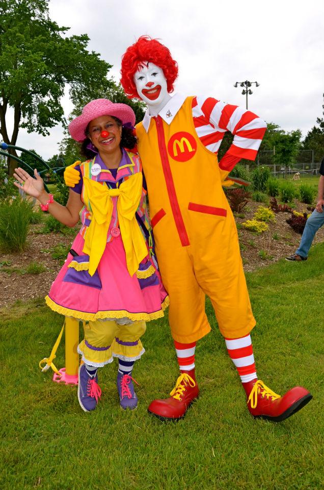 With my boyfriend, Ronald!